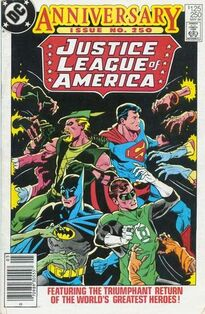 Justice League of America Vol 1 250