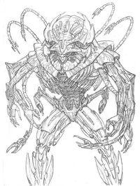 Brainiac sketch 2 by rmohr