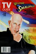 TvGuide Smallville-Ross cover Lex Luthor
