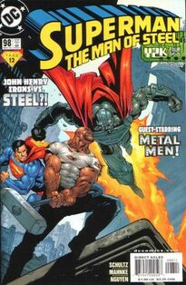 Superman Man of Steel 98