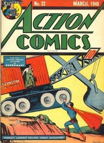 Action Comics Issue 22