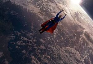 Superman Recharges