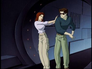 Scott and Jean (X-Men Evolution)