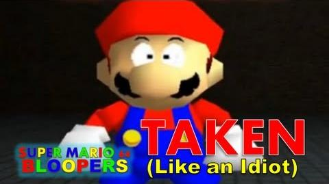 Super mario 64 bloopers taken (like an idiot)