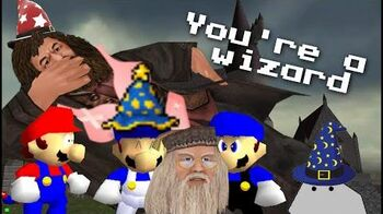 Super mario 64 bloopers Spells n' Wiztards