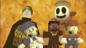 Super Minecraft 64 bloopers Legend of steve