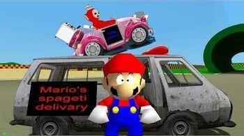 Retarded64 Mario's Spageti Delivary