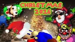 Super Mario Christmas 2016 Naughty or Nice