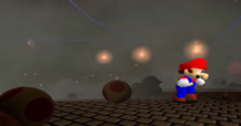 Mario saves the day and kills all the toads!