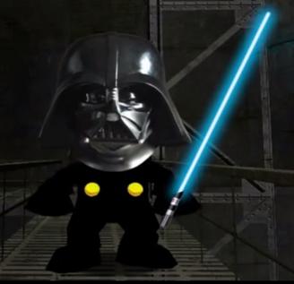 Darth Vader VS Mario