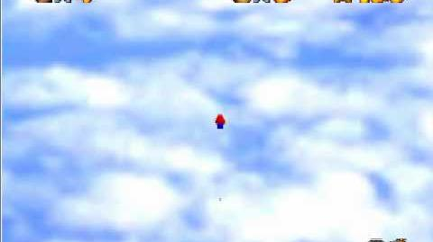 Super Mario 64 Blooper Losing your N64