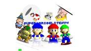 Super Mario Glitchy 4's cover