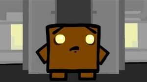 Super Meat Boy 3rd boss Brownie