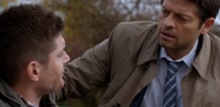 Castiel checks on Dean (The Devil in the Details)