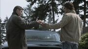 Dean lets Sam drive