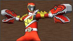 Kyoryuger Kyoryu Red Gaburu Armed On