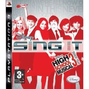 Disney Sing It! High School Musical 3 Senior Year - Wii