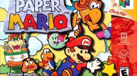 Paper Mario Music - Mario And Peach's Theme