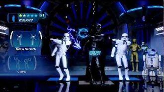 Vader & Emperor Dance-off Star Wars Kinect
