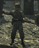 A German sniper