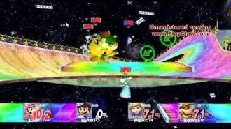 SSBB Epic Battles -270 Mario -N64- vs. Luigi -N64- vs. Princess Rosalina -N64- vs