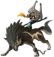Link midna wolf