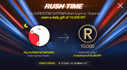 Rush Time Event