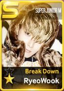 Ryeowook break down