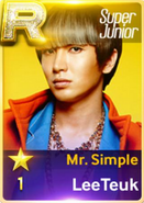 MR Simple Leeteuk