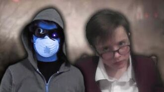 R.L. Stine vs MrCreepypasta. SuperThingsOnCups Rap Battles