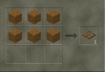 Wooden Trap Door craft