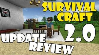 SURVIVAL CRAFT 2.0 UPDATE REVIEW and Gameplay