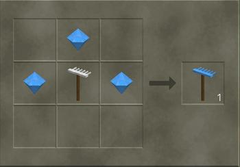 Crafting a diamond rake