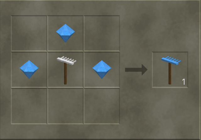 File:Crafting a diamond rake.png