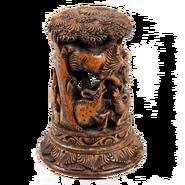 African-carved-black-wooden-tree-statue-maruti-sandalarts-ijamaruti000379 2 copy