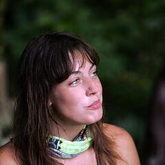 Amanda on the merged tribe, <a href=