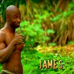 James' second motion shot in the opening.