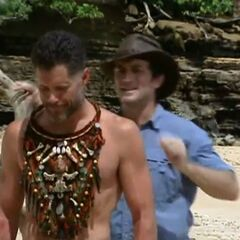 Terry's first immunity win.