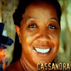 Cassandra's photo in the opening.