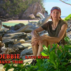 Debbie expresses her displeasure after losing the <a href=
