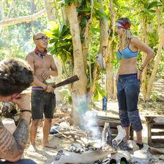 The new Mana tribe at camp.