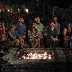 Espada at their second Tribal Council.