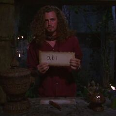 Joe casts his final vote against Abi-Maria.