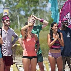 The new Bayon tribe has won immunity.
