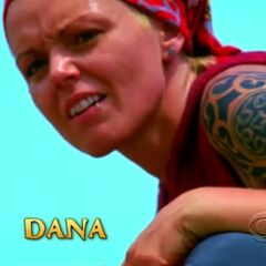 Dana's second motion shot in the opening.