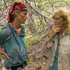 Holly with Jane after the merge.