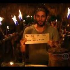 David's last vote to eliminate someone.