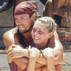 Kat and Hayden hug before Kat leaves.