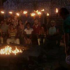 Nakúm's second Tribal Council.