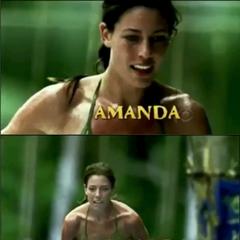 Amanda's intro shots.